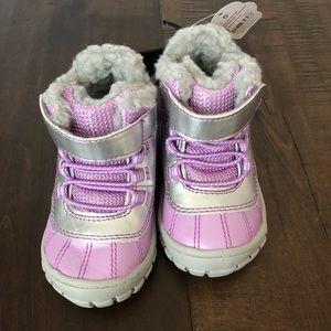 Wonder nation Toddler girls snow boots